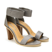 Caviglia Strap Sandals in Grey