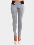 Pantalon Gray Bodycon taille basse