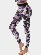 Casual High-waist Camouflage Print Pattern Fashion Leggings