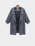 Manteau Waterfall Gris Trench