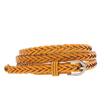 Braided Slim Belt