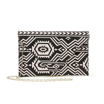 Totem Pattern Design Clutch Bag