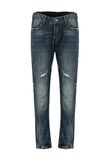 Jeans with Distressed Detail
