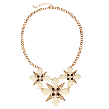 Geometric Choker Necklace