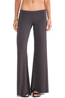 Grey Fashion Low Waist Wide Leg Trousers