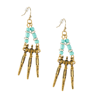 Bohemia Bead Drop Earrings
