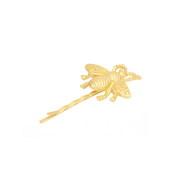 Honeybee Hair Clip in Gold