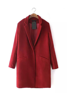 Red Tweed Duffle Coat