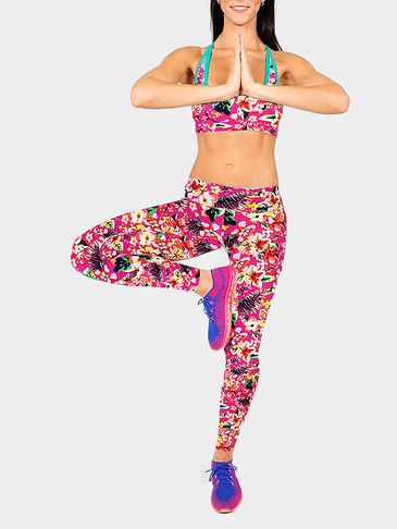 Floral Print Sport Fashion Leggings
