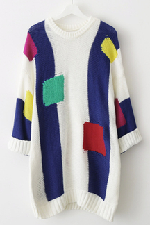 Patch Assorted-color Jumper