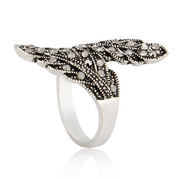 Vintage Double Wing Ring