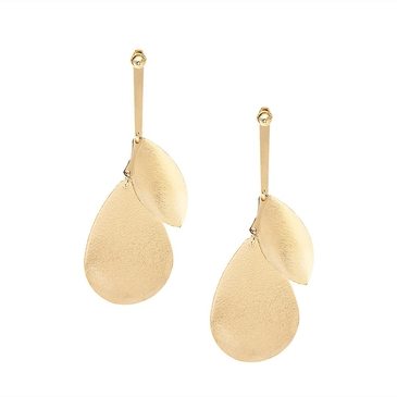 Charmed Metal Long Pendant Drop Earrings for Girl