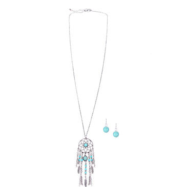 Dreamcatcher Tassel Pendant Chain Necklace
