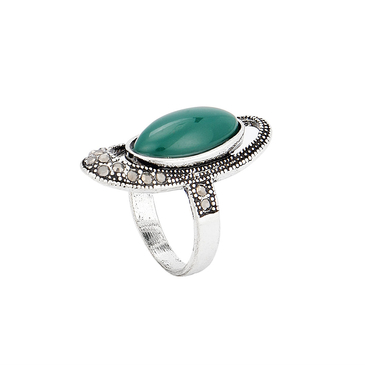 Green Oval Festival Ring