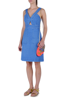 Washed Cami Denim Dress