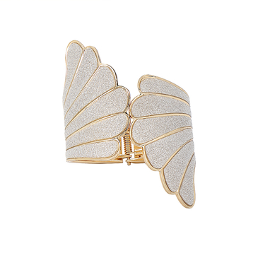 Winged Spring Cuff Bracelet