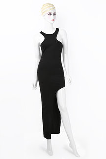 Black Sexy Bodycon Round Neck Cold Shoulder Jumpsuits