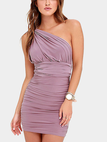 Sexy Ruched Convertible Dress