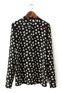 Long Sleeves Printed Shirt