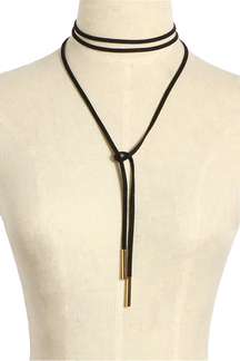 Velvet Ribbon easy-matched Long Necklace