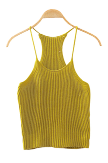 Fashion Sleeveless Knit Top