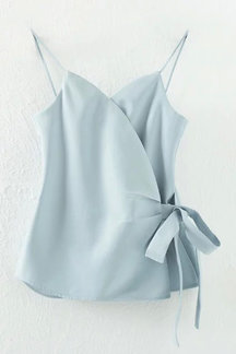 Sexy Strappy Cami Top with Bowknot