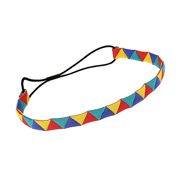 Stylish Triangle Elasticated Tape Headband in Multicolor