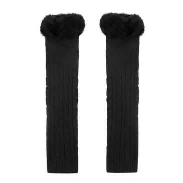 Long Armwarmer in Black
