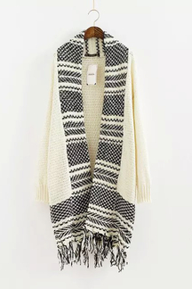 Cardigan with jacquard