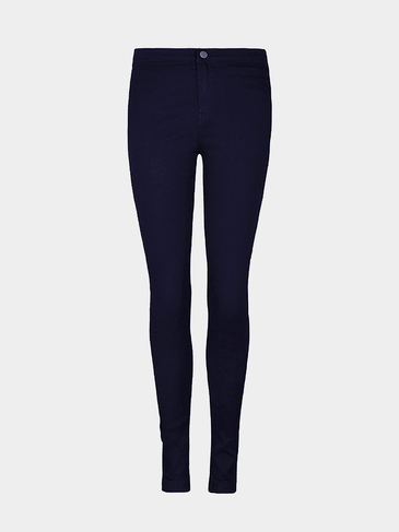 Navy High Waist Skinny Jeans