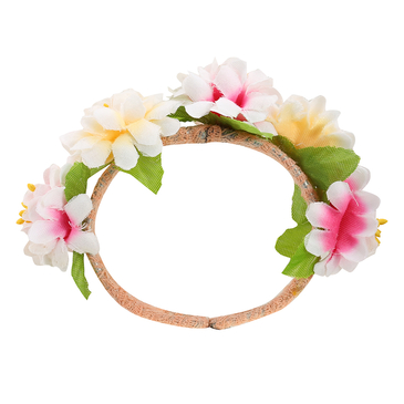 Open Type Multi Colors Flower Bride Bracelets for Vacation