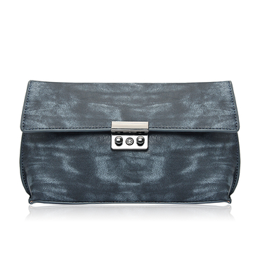 Leather-look Envelope Clutch Bag