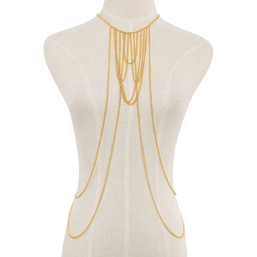 Chain Drape Body Harness
