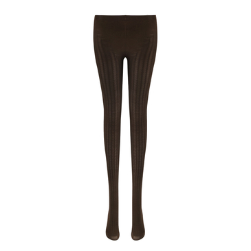 Coffee Rib Tights