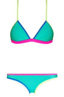 Sexy Multi Color Bikini Set