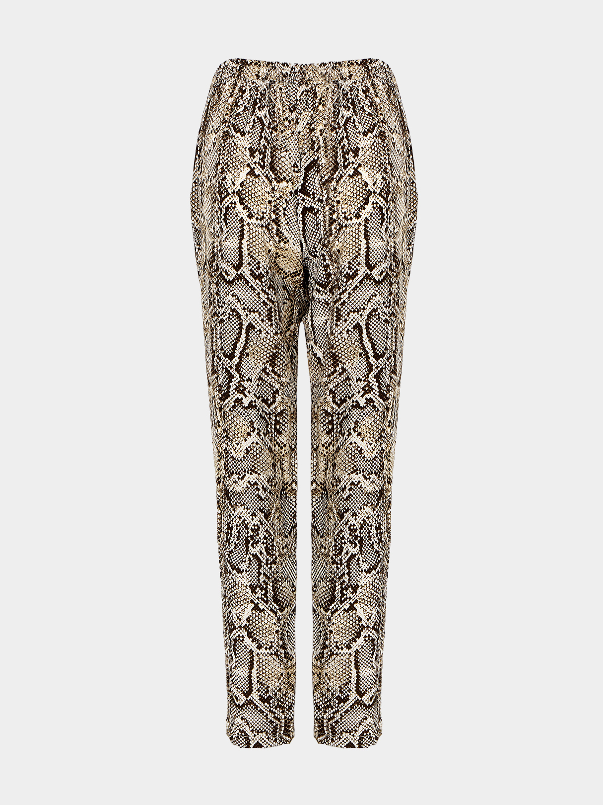 Drawstring Trousers with Snake Print от Yoins.com INT