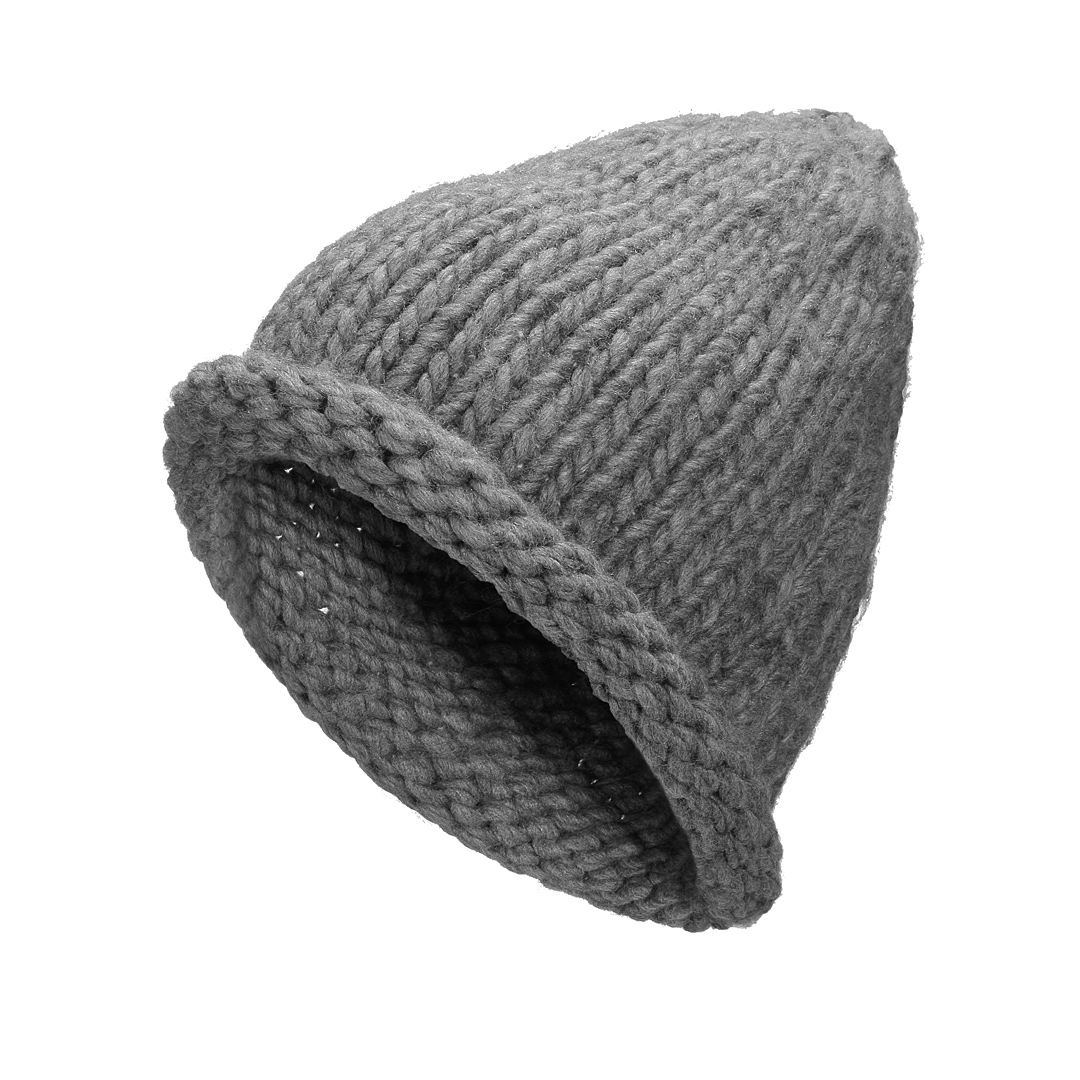Beanie Hat with Roll Brim Detail от Yoins.com INT