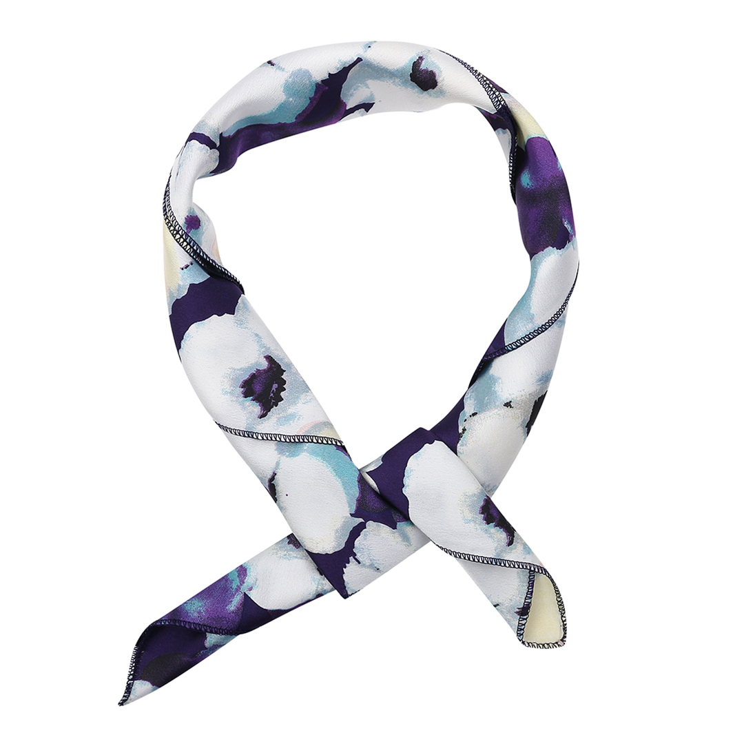 Square Silk Scarves in Floral