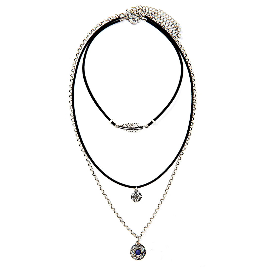 Fashion Adjustable Threeply Design Necklace