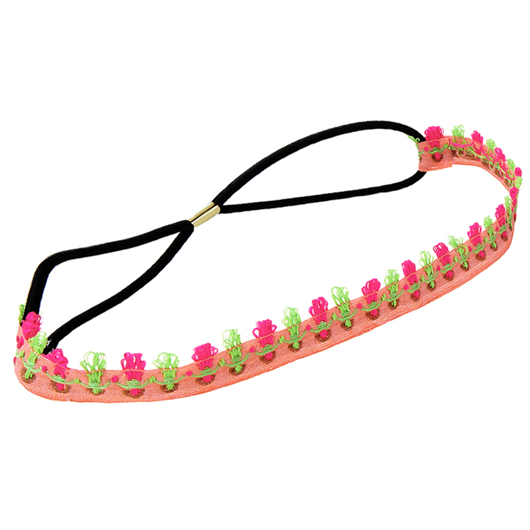 Ethnic Hand-embroidered Cloth Villain Elastic Headband