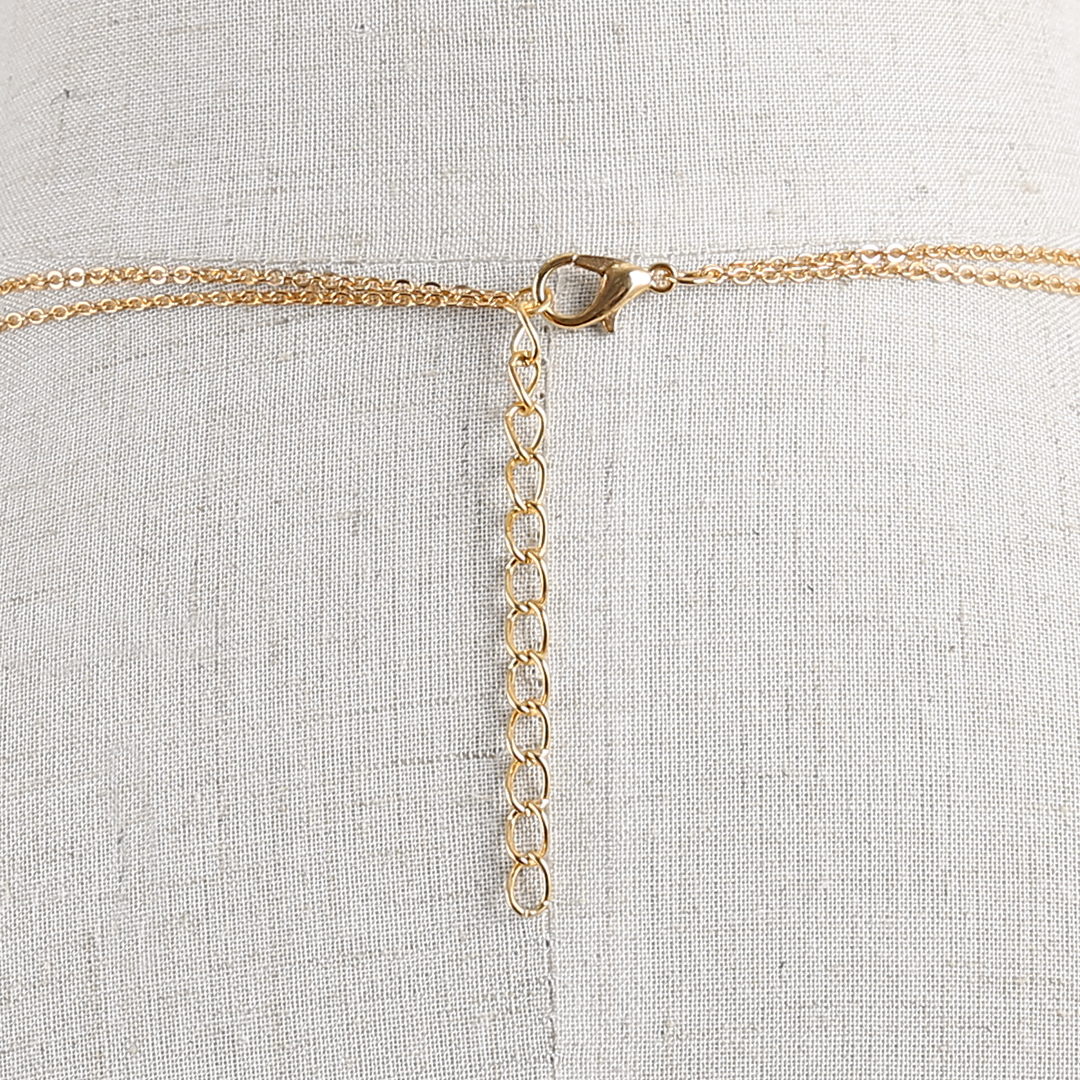 Double Bar and Tassel Pendant Layered Necklace от Yoins.com INT