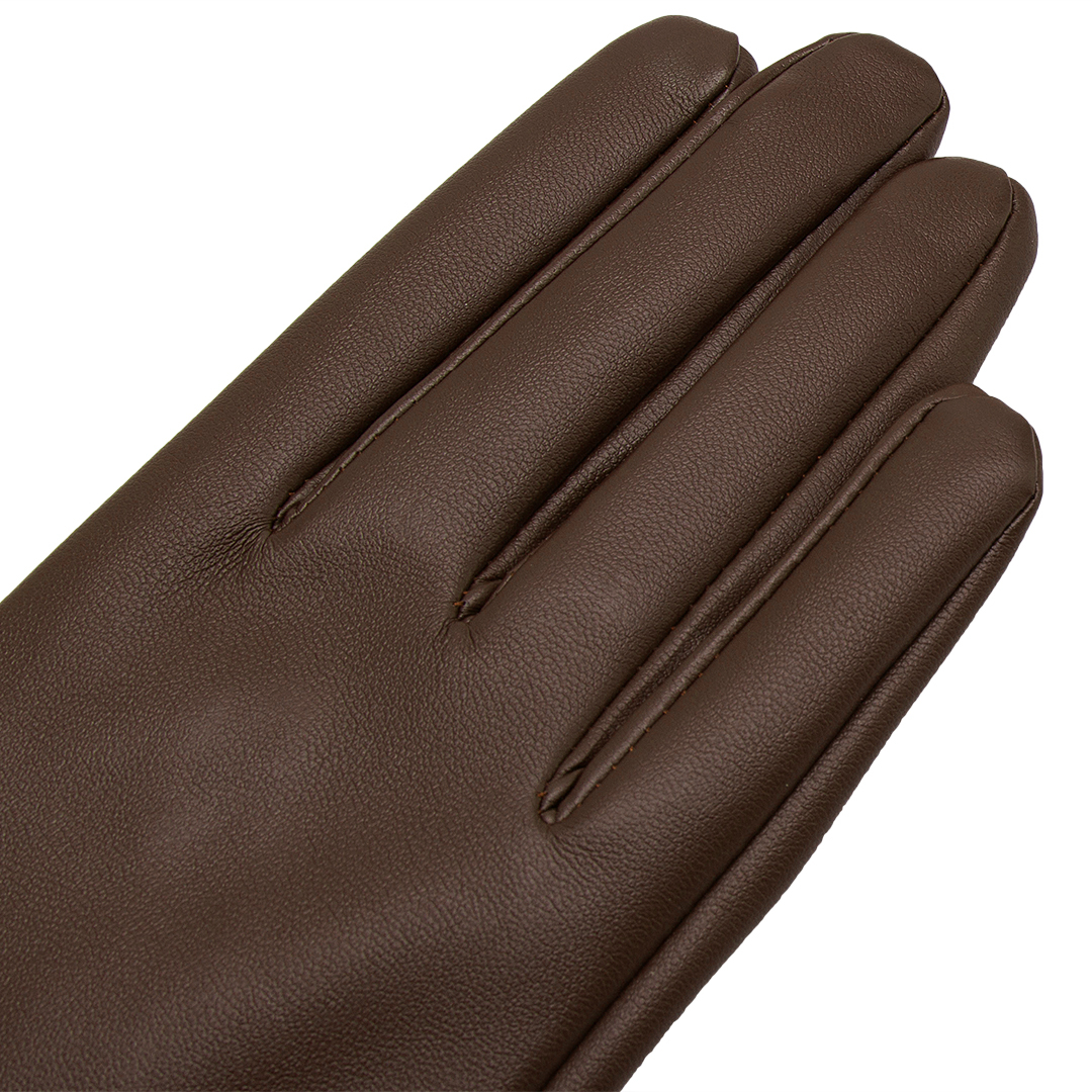 Long Leather Gloves in Blown от Yoins.com INT