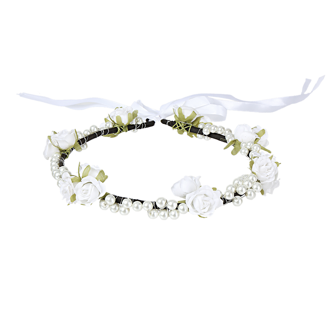 Sen Female Korean Wreath Crown Garland Headband