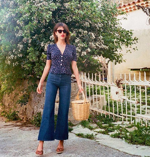 Dress Like A French Woman In Summer
