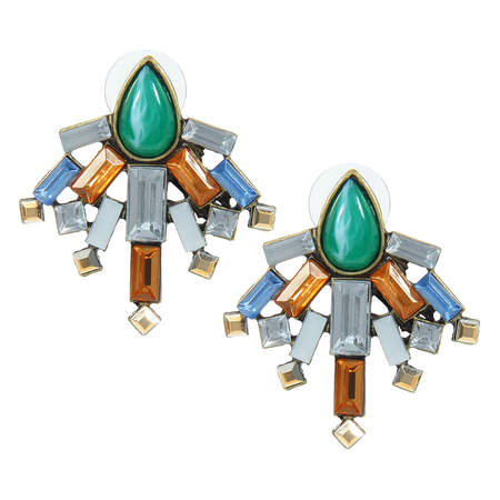Statement Gem Earrings