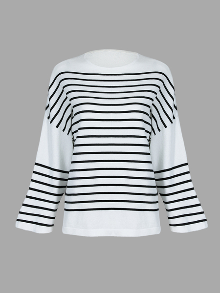 Jumper in Stripe Print