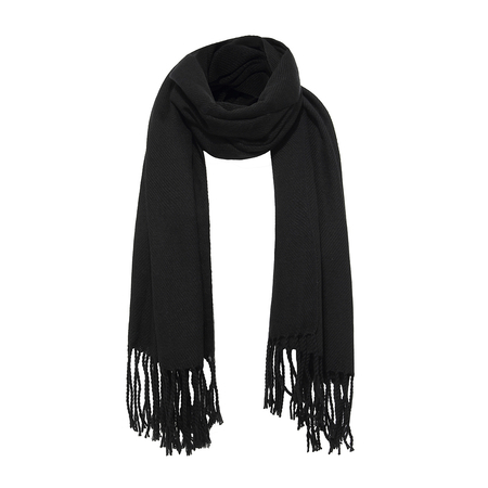 Wrap Scarf in Black