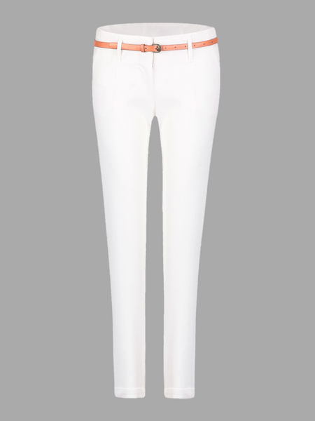 Skinny Pants in White