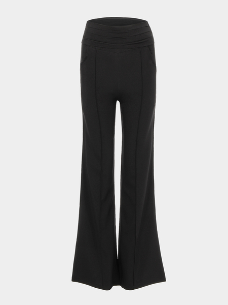 High-rise Waist Wide Leg Trouser