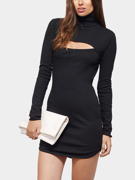 Turtleneck Dress